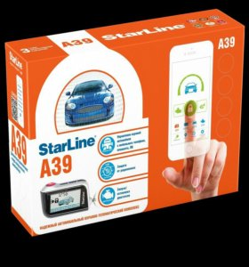 Автосигнализация Starline с автозапуском