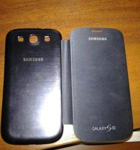 Задняя крышка samsung galaxy s3 i9300 с закрывающи