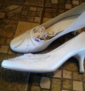 Туфли ,37 рр, кожа