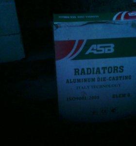 Итальянские алюминиевые батареи