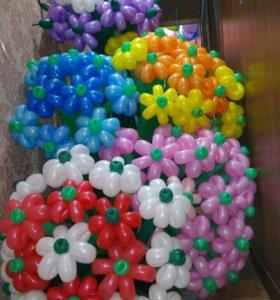 Букеты из воздушных шаров!