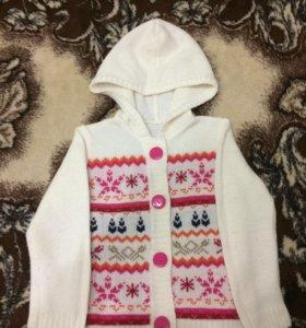 Кофта вязаная и свитер в отличном состоянии