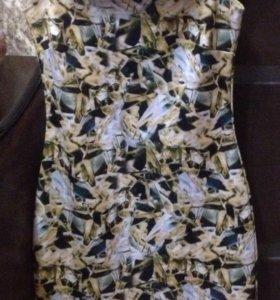 Платье тянется. Яркое и очень стильное.