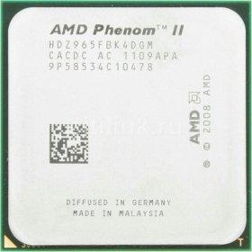 Phenom ll 965 x4 3400ггц.