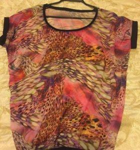 Яркая блуза GJ р 46-48