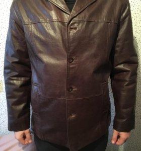 Фирменная кожаная куртка Revolution