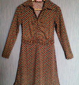 Платье трикотажное, р-р 42