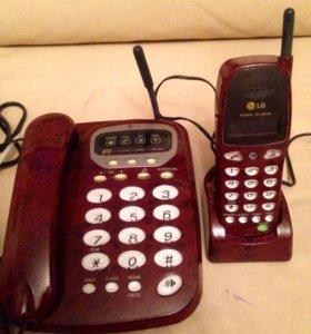 Телефон и радиотелефон LG