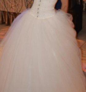 """Свадебное платье """"Лунная дорожка"""""""