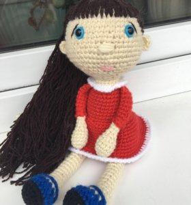 ❤️Вязаная куколка амигуруми❤️