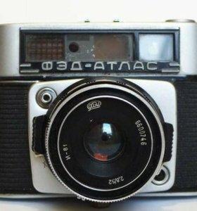 Фэд-Атлас редкий фотоаппарат фэд-11
