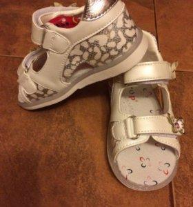 Детские туфли 21 размер