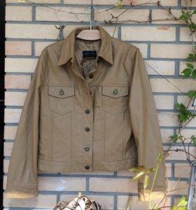 Кожаная женская куртка Marc Cain