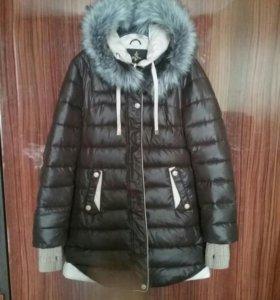 Пуховик, куртка зимняя рр 48/XL