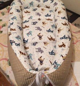 Гнёздышко-кокон для малыша