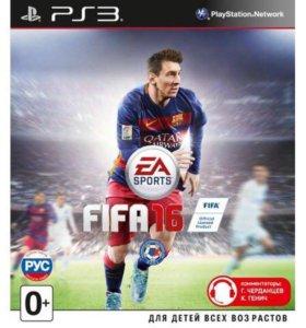 FIFA 16 для PS3 новая