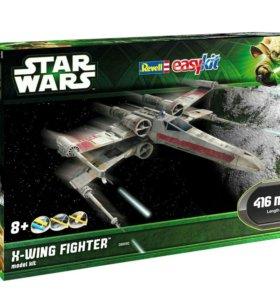 Сборная модель Star Wars - Звездный истребитель X-