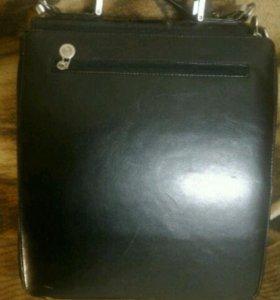 Кожанный портфель.