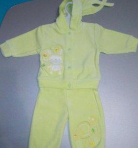 Велюровый костюм для мальчика или девочки