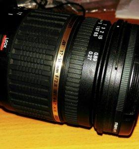 Tamron SP AF17-50mmF/2.8canon+UVMarumi 67mmMC-UV