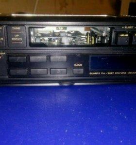 Pioneer магнитолы касетные