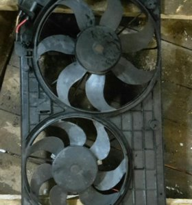 Диффузор вентилятора пассат В7