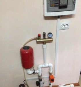 Отопление в сборе(электрический котёл)