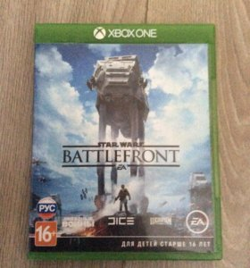 Диск на Xbox one Battlefront Star Wars