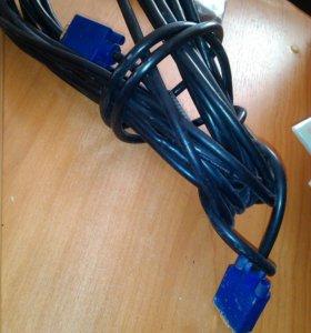 кабель vga-vga, 9м