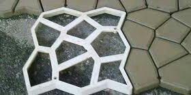 Форма для дорожки Мозайка