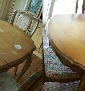 Профиссиональная реставрация, ремонт мебели