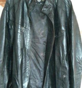 Мужская куртка кожзам. 12 xl