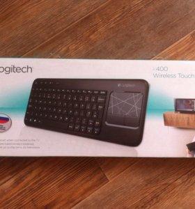 Новая беспроводная клавиатура Logitech k400