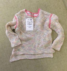 Вязанный свитер Zara