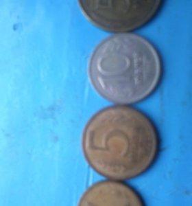 Монеты 90-х