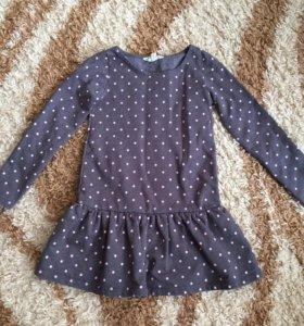 Платье H@M р.110-116