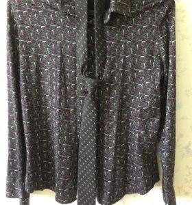 Молодежная рубашка приталенная 46-48 р-р Ko's