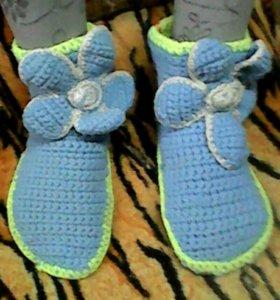 Носки - тапочки