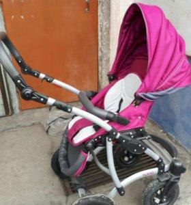 """Детская коляска Калисто """" Пикассо"""" 2 в1"""