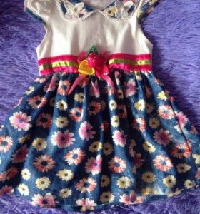 Платье ( рост 98-104)