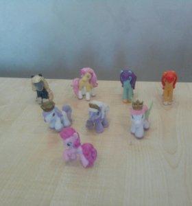 Игрушечные лошадки и пони! :)