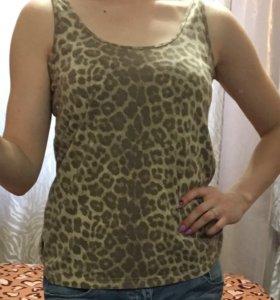 Майка леопардовая