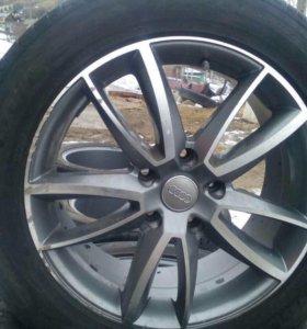 Продам колёса в сборе R 19 т.89236309131