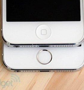 Кнопка на iPhone 5
