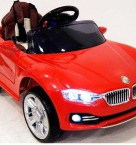 Детский Электромобиль BMW O111OO ( кожа) VIP