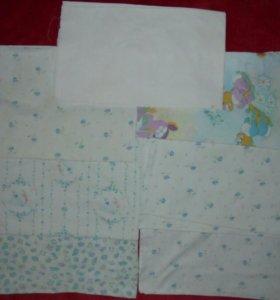 Пеленки, полотенца, клеенка, покрывала пакетом