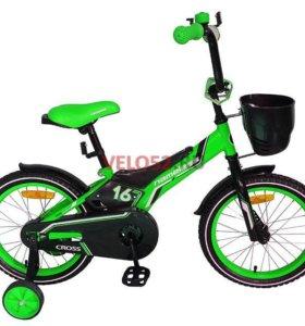 """Велосипед детский nameless от 3 до 6 лет 16"""" НОВЫЕ"""
