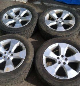 Колеса на Subaru