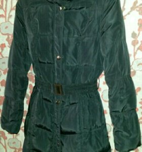 демисезонное пуховое пальто incity р. 42-44