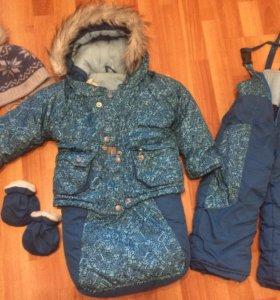 Костюм зимний 2в1(шапка в подарок )